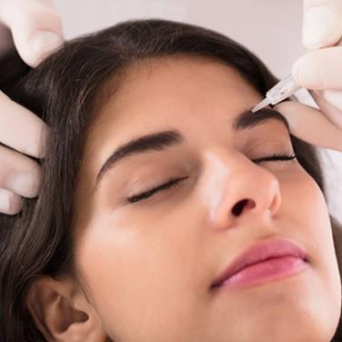 שיטת השערה שיטת הפודרה באיפור קבוע