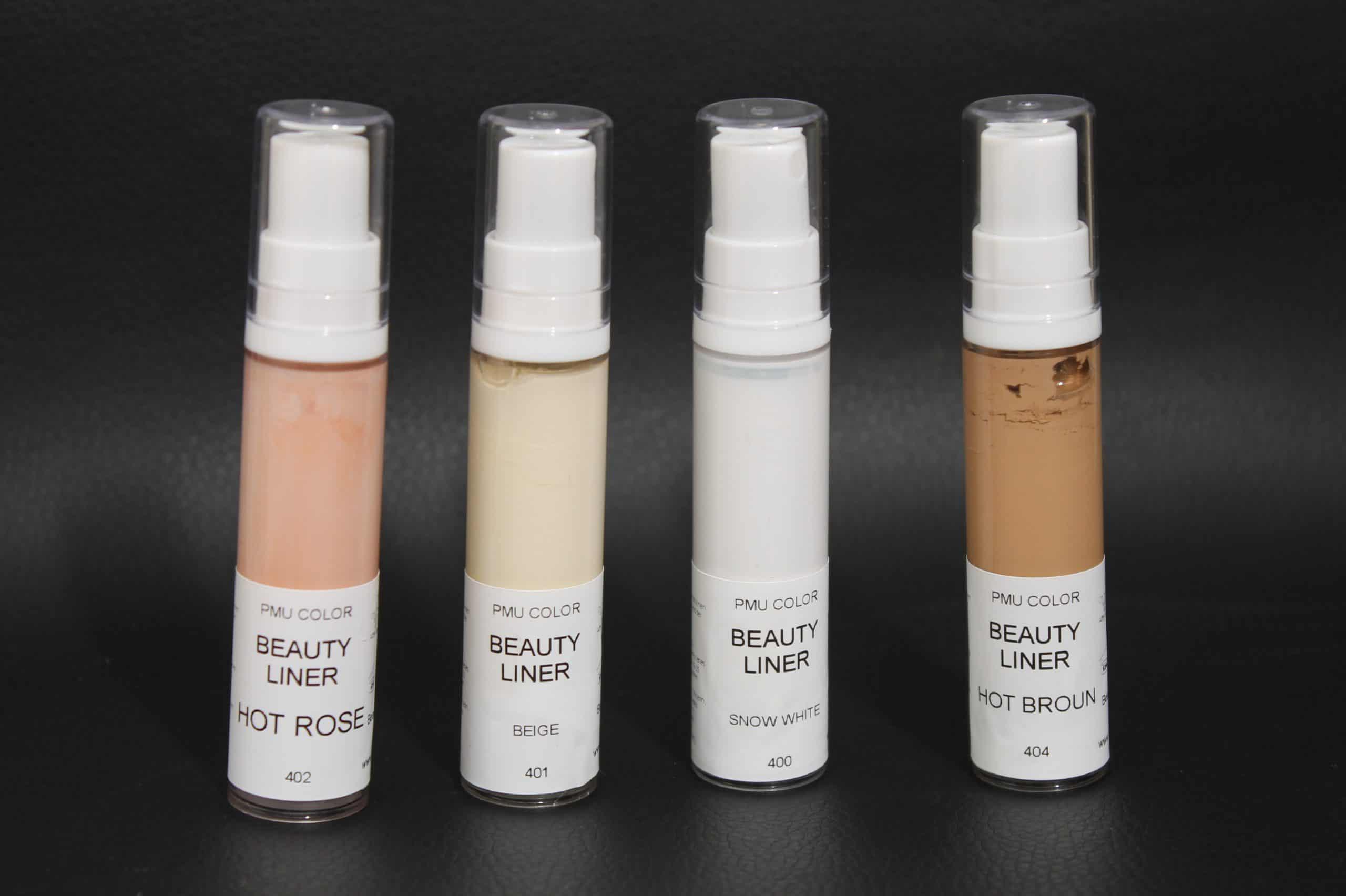 צבע איפור קבוע למחיקה וטשטוש