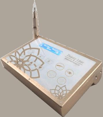 מכשיר איפור קבוע מדגם: גולדן ביוטי