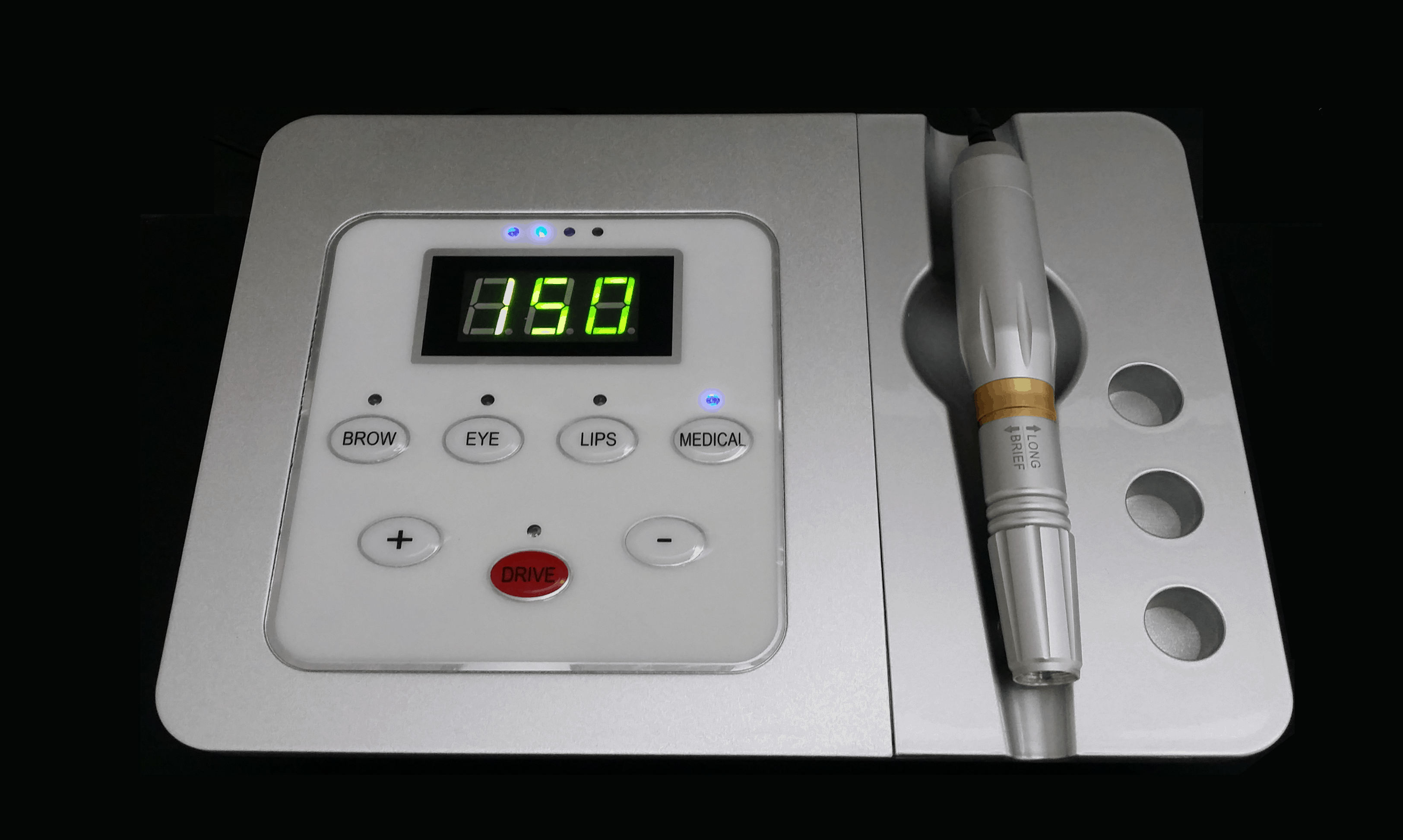 מכשיר איפור קבוע דיגיטלי מדוייק וקל להפעלה לאיפור מדוייק מיוצר בגרמניה